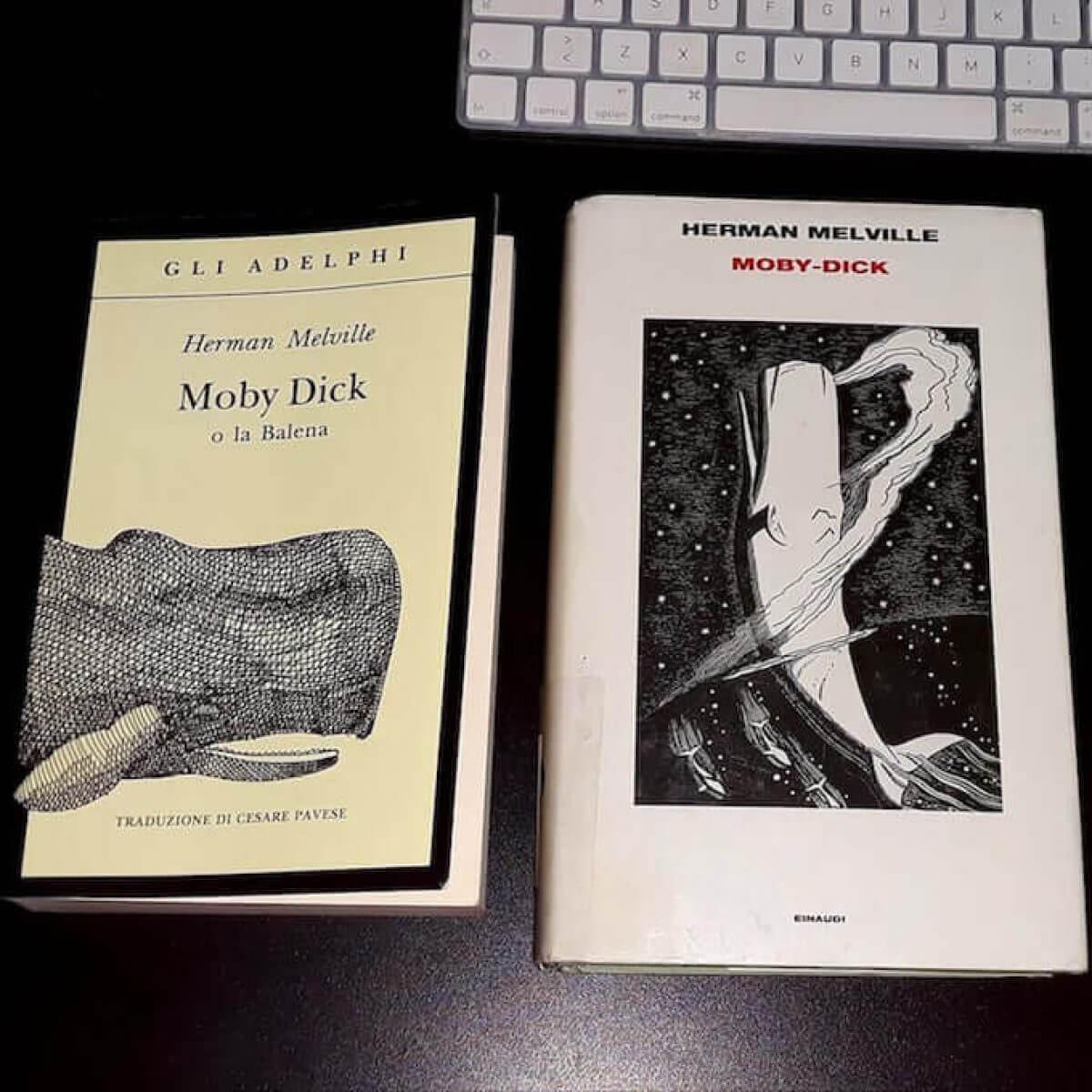 Moby Dick: Adelphi ed Einaudi