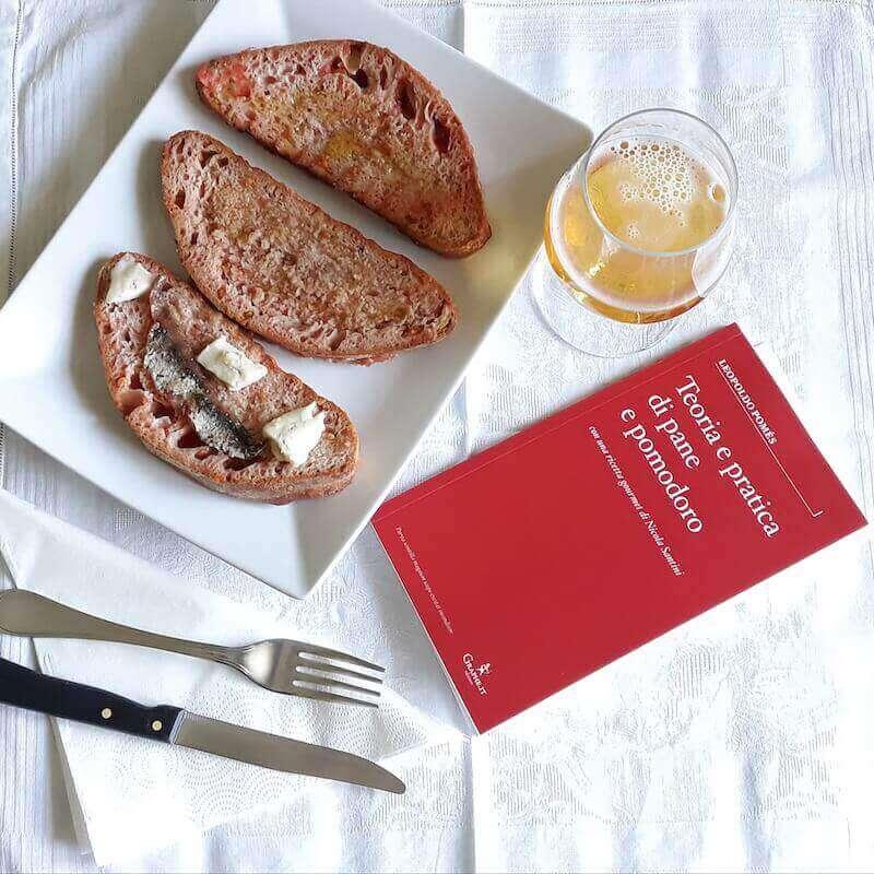 """""""Teoria e pratica di pane e pomodoro"""" di Leopoldo Pomés"""