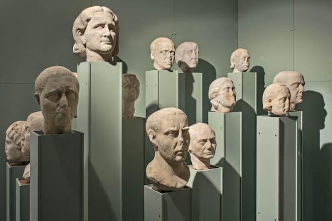 Galleria di ritratti, Museo Archeologico di Aquileia