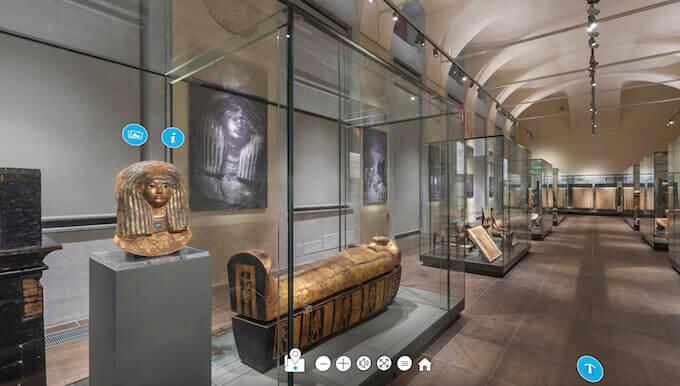 Virtual tour del Museo Egizio di Torino
