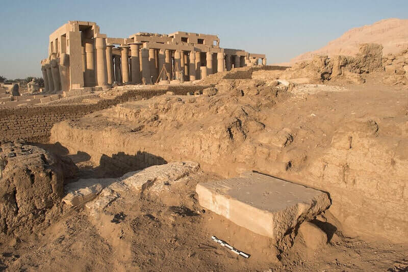 Gli annessi economici nord del Ramesseum