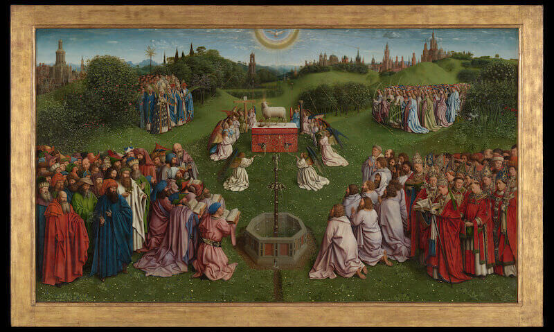 L'Agnello Mistico di Jan van Eyck