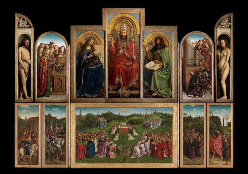 Il Polittico dell'Agnello Mistico di Hubert e Jan van Eyck