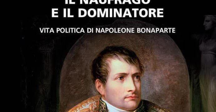 Antonino De Francesco, Il naufrago e il dominatore, Neri Pozza (dettaglio della copertina)