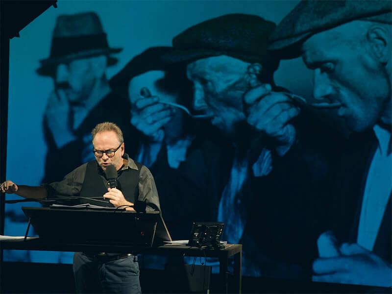 """Massimo Popolizio in """"Furore"""". Foto di Federico Massimiliano Mozzano"""