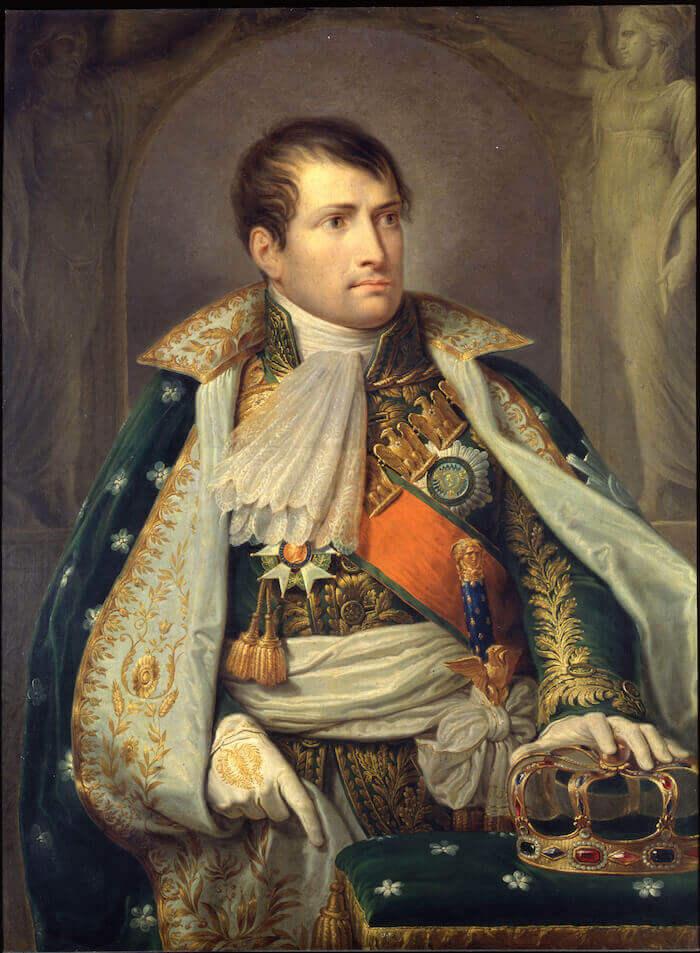 Giuseppe Diotti, Ritratto di Napoleone I imperatore