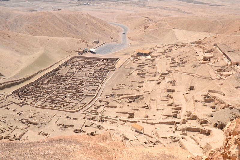 Gobeil Deir el Medina (foto del Museo Egizio di Torino)