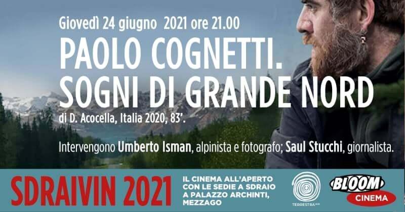 """""""Paolo Cognetti. Sogni di Grande Nord"""" allo Sdraivin del Bloom di Mezzago"""