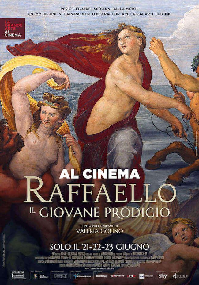 """Poster del film """"Raffaello. Il giovane prodigio"""""""