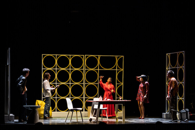 """Un'immagine dello spettacolo """"Vaudeville!"""". Foto di Sabrina Cirillo (Ag. Cubo)"""