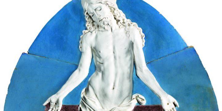 Andrea della Robbia, Cristo in pietà (1495 circa)