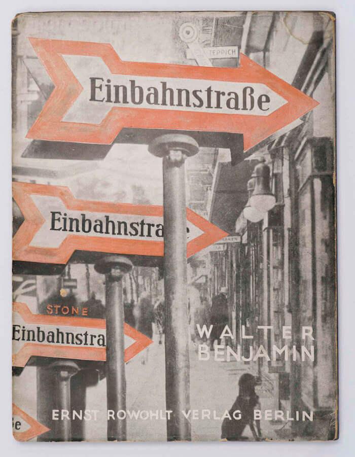 Walter Benjamin, Einbahnstraße (1928)