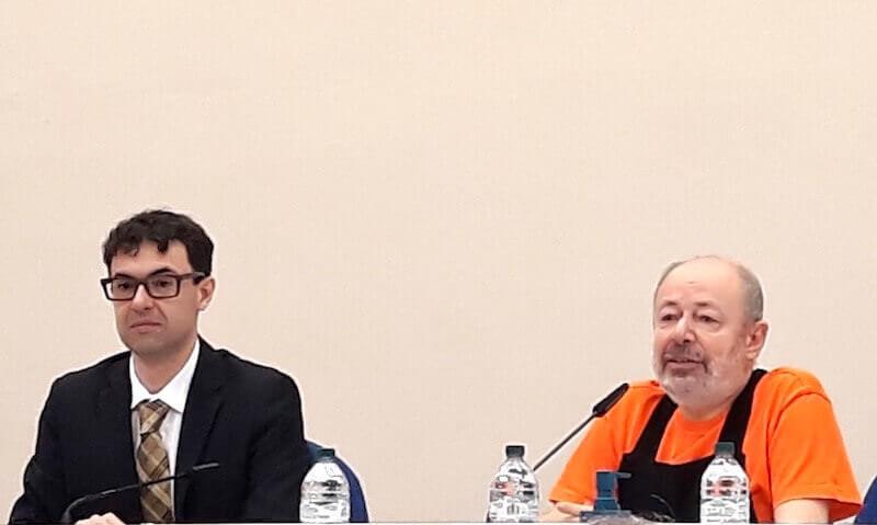 Paolo Bolpagni e Italo Rota alla Fondazione Ragghianti di Lucca
