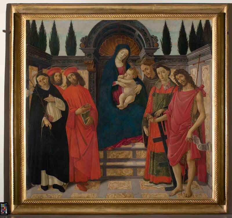 Sandro Botticelli, Pala del Trebbio, Galleria dell'Accademia, Firenze