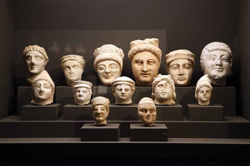"""Un'immagine della mostra """"Cipro. Crocevia delle civiltà"""" ai Musei Reali di Torino (foto di Daniele Bottallo)"""