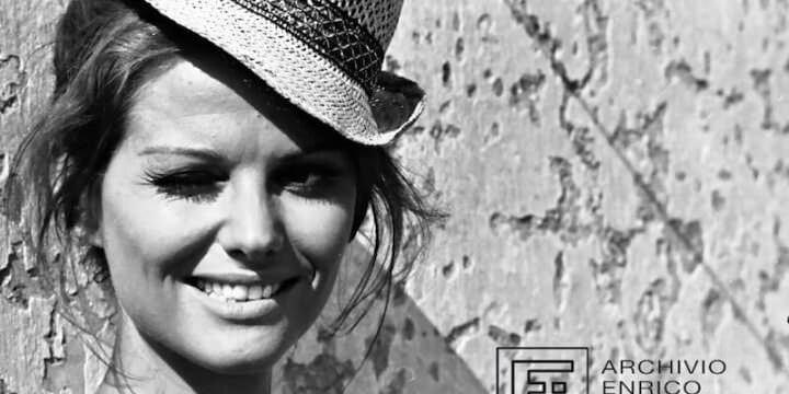 """Enrico Appetito, Claudia Cardinale sul set del film """"Il giorno della civetta"""""""