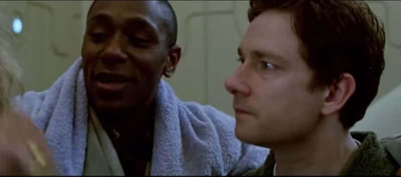 "Uno screenshot del film ""Guida galattica per autostoppisti"" di Garth Jennings"