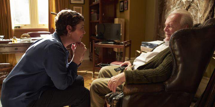 """Olivia Colman e Anthony Hopkins nel film """"The father. Nulla è come sembra"""" di Florian Zeller"""