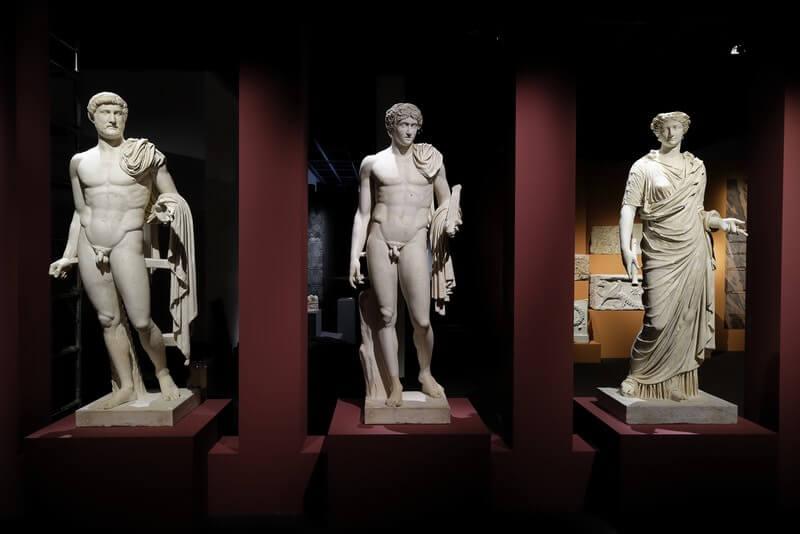 """Mostra """"L'Empereur romain, un mortel parmi les dieux"""" al Musée de la Romanité di Nîmes - Foto: © Stéphane Ramillon"""