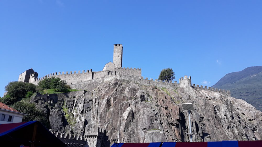 Il Castelgrande di Bellinzona