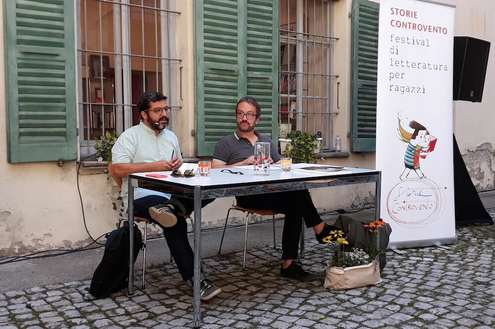 Carlos Spottorno e Giona Mattei al Festival Babel di Bellinzona