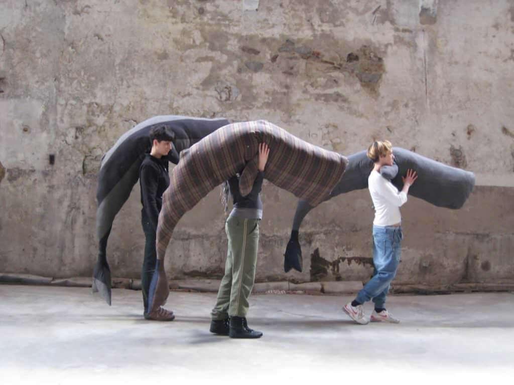 Claudia Losi, Les Funérailles de la Baleine, Fondo Bruno, Cossila San Giovanni (Biella), 2010