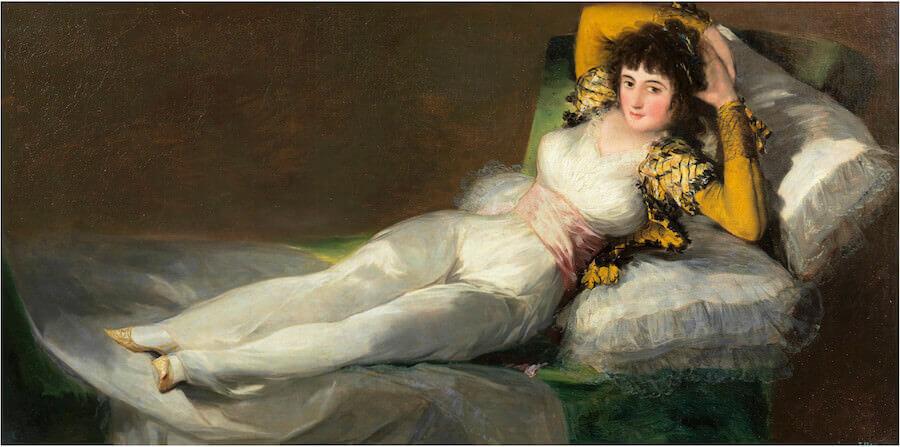 Goya, La maja vestida