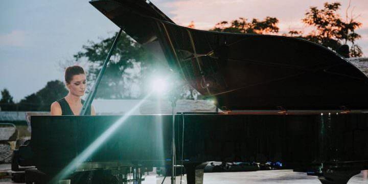 La pianista Roberta Di Mario
