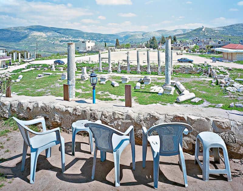 Alfred Seiland, Foro romano e Basilica di Sebastia, Samaria, Palestina, 2009