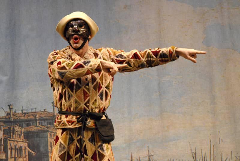 Arlecchino © Ciminaghi Piccolo Teatro Milano