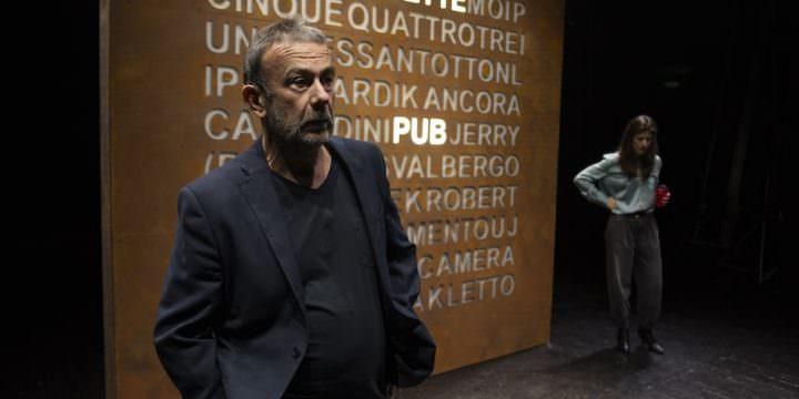 "Stefano Braschi e Stefania Medri in ""Tradimenti"" di Harold Pinter"