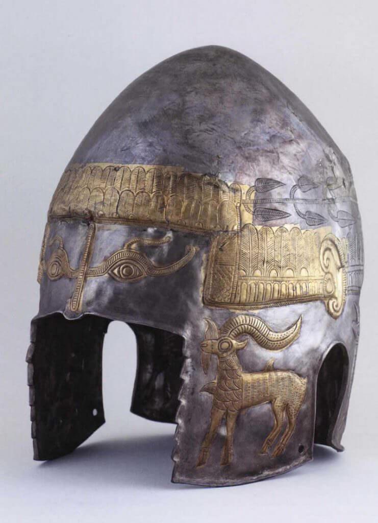 Elmo. Tesoro di Peretu. Peretu, Teleorman. La Tène. Seconda metà IV secolo a.C.